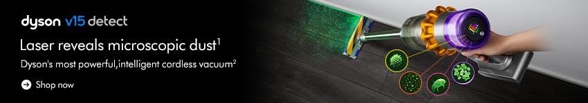 Dyson V15 Detect banner