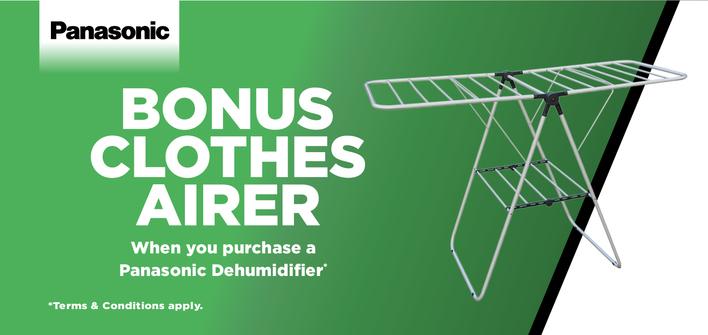 Dehumidifier - BONUS Clothes Airer