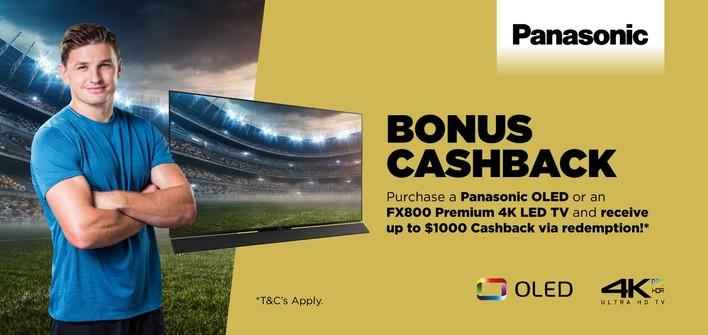 Panasonic OLED TV & FX800 Premium 4K TV