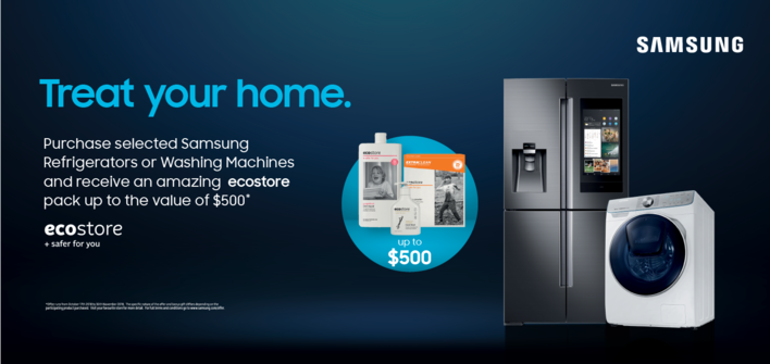 Samsung ECO Store Promo