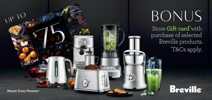 Breville Luxe/Gift Card Promo