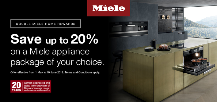 Miele Double Miele Home Rewards