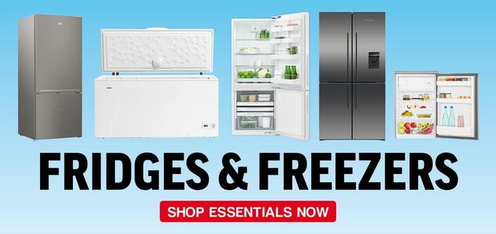 Essentials - Fridges & Freezers