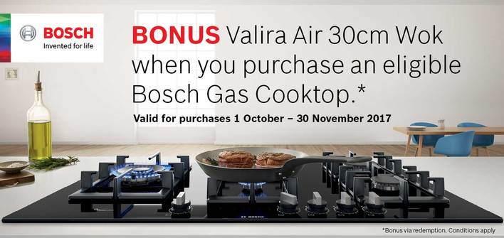 Bosch FlameSelect Wok Promotion