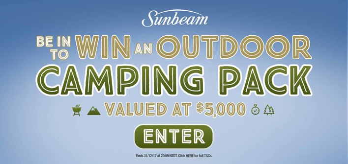 Sunbeam Outdoor Camping Pack Promotion