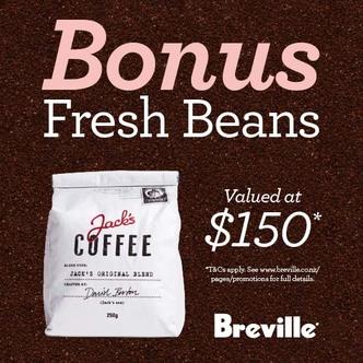 Breville Espresso Promotion