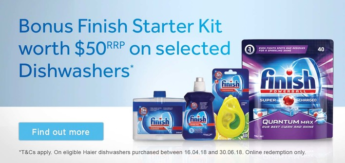 Haier Bonus Finish Starter Kit
