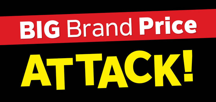 Big Brand Price Attack