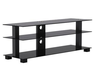"OMP 3 SHELF 37-50"" TV TABLE BLACK (KARAMEA) KAIAPOI 1200"