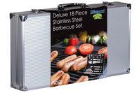 Masport Deluxe 18 Piece Stainless Steel BBQ Set