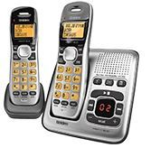 Uniden DECT1735+1 Digital DECT Cordless Phone with Answer Machine Twin