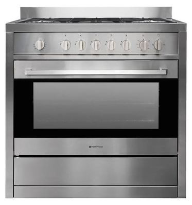 Parmco 90cm Freestanding Gas Oven - Stainless Steel