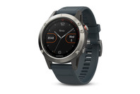 Garmin fenix 5 Smartwatch - Silver with Granite Blue Band