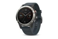 Garmin fenix 5 Smartwatch - Silver with Granite Blue Band