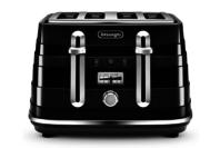 DeLonghi Avvolta 4 Slice Toaster - Black