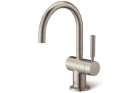 InSinkErator Near-Boiling + Cold Filtered Water Tap - Brushed Steel