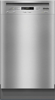 Miele 45cm Built-Under Dishwasher - Clean Steel