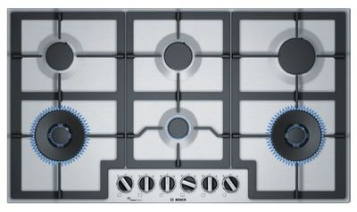 Bosch 90cm Gas Stainless Steel Cooktop