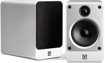 Q Acoustics Concept 20 Bookshelf Loud Speakers - White (Display)