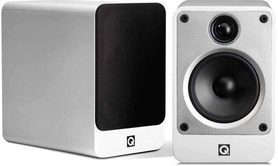Q Acoustics Concept 20 Bookshelf Loud Speakers - White