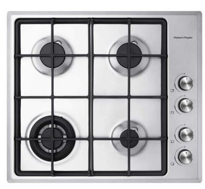 Fisher and Paykel 60cm Gas on Steel Cooktop (LPG)