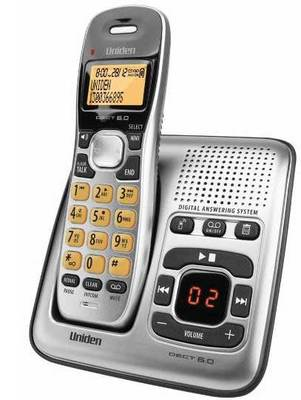 Uniden DECT1735 Digital DECT Cordless Phone with Answer Machine