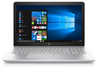 HP 15.6in Pavilion Notebook - Mineral Silver (Display)