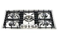 ILVE 90cm Gas Cooktop - Stainless Steel