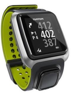 TomTom Golfer Watch - Dark Grey/Bright Green