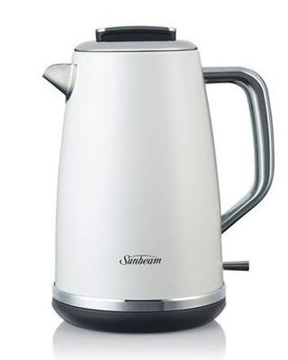 Sunbeam 1.7L Gallerie Collection Kettle - White Sky