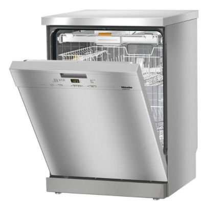 Miele 60cm Freestanding Dishwasher - Clean Steel