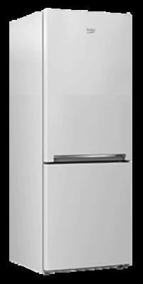 Beko 335l Bottom Mount Fridge Freezer White Buy Online
