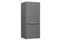 Beko 407L Bottom Mount Fridge/Freezer Platinum