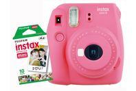 Fujifilm Instax Mini 9 Combo Flamingo Pink