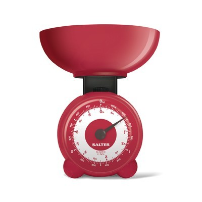 Salter Orb Mechanical Scales - Red