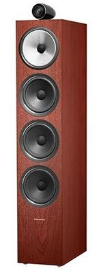 B&W 702 S2 Floorstanding Speaker - Rosenut