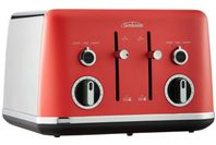 Sunbeam 4 Slice Gallerie Collection Toaster - Red Watermelon