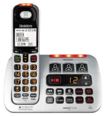 Sse45 uniden ss e45 cordless digital phone system 2