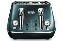 DeLonghi Distinta Flair 4 Slice Toaster Allure Green