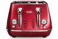 DeLonghi Distinta Flair 4 Slice Toaster Glamour Red