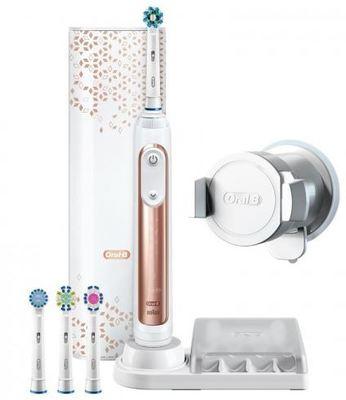 Oral B Genius 9000 Electric Toothbrush Rose Gold