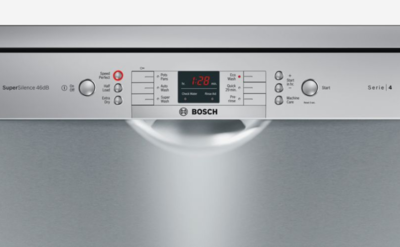 Sms46gi01a bosch 60cm stainless steel freestanding dishwasher 4