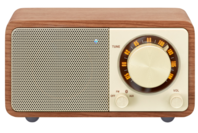 Sangean WR-7 Wooden Cabinet Bluetooth Speaker (Walnut)