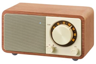 Sangean wr 7 wooden cabinet bluetooth speaker 3