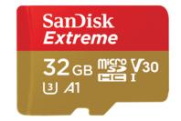 SanDisk 32GB Extreme microSD UHS-I Card