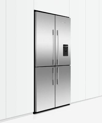Fisher paykel activesmart fridge 905mm quad door with ice water 605l rf605qduvx1 3