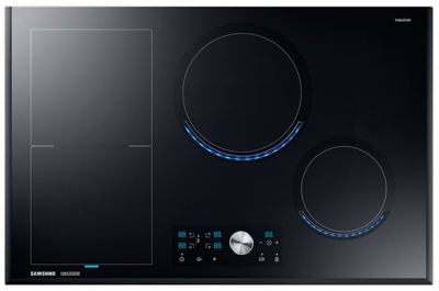 Samsung 4 burner chef collection induction cooktop nz84j9770eksa