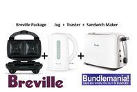 Breville Package - Jug  - Toaster  -  Sandwich Maker
