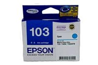 Epson Ink 103 High capacity Cyan Cartridge