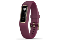 Garmin vivosmart 4 Berry with Light Gold Hardware